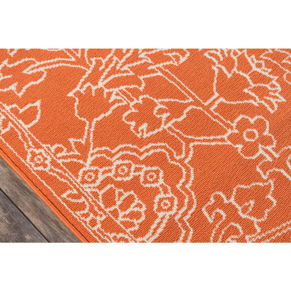 "Baja Area Rug, Orange, 3'11"" X 5'7"". Picture 3"