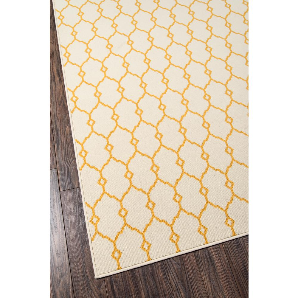 "Baja Area Rug, Yellow, 3'11"" X 5'7"". Picture 2"