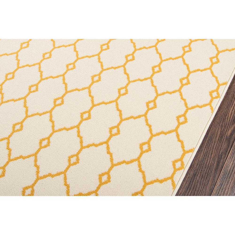 "Baja Area Rug, Yellow, 3'11"" X 5'7"". Picture 3"