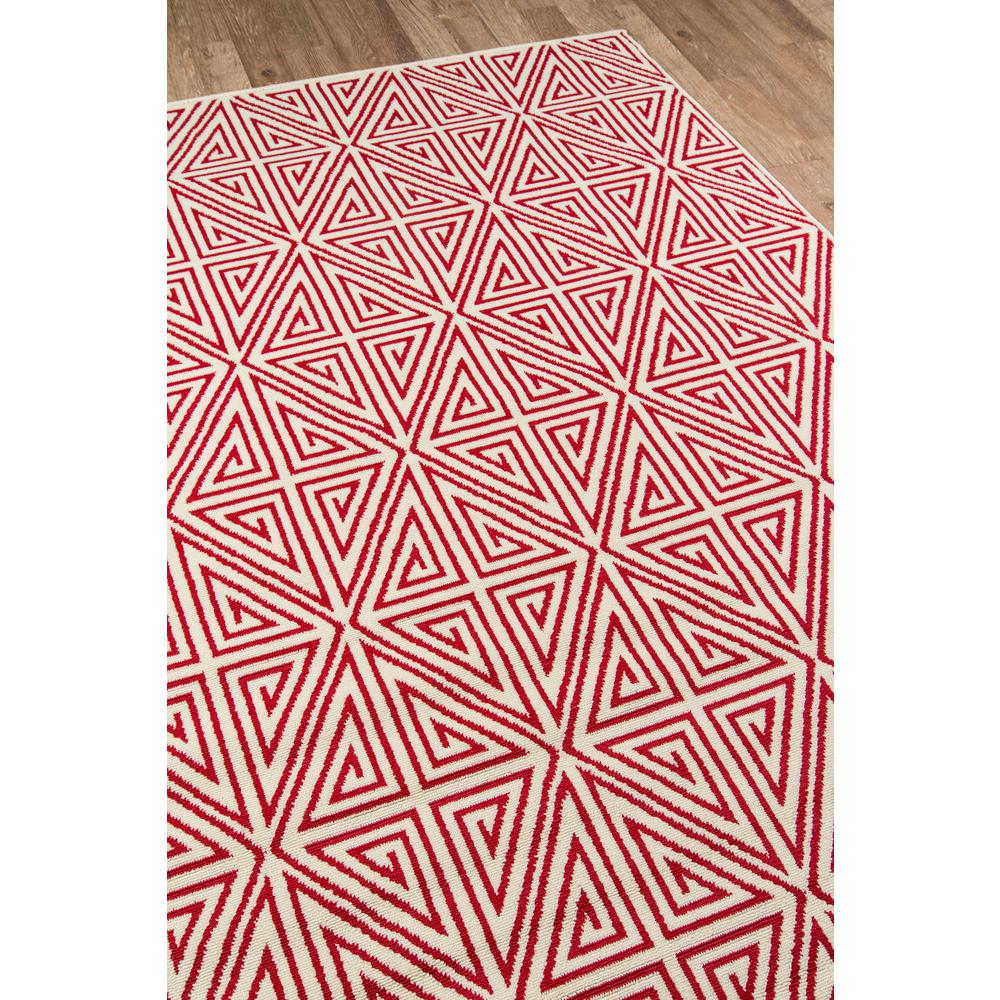"""Baja Area Rug, Red, 3'11"""" X 5'7"""". Picture 2"""