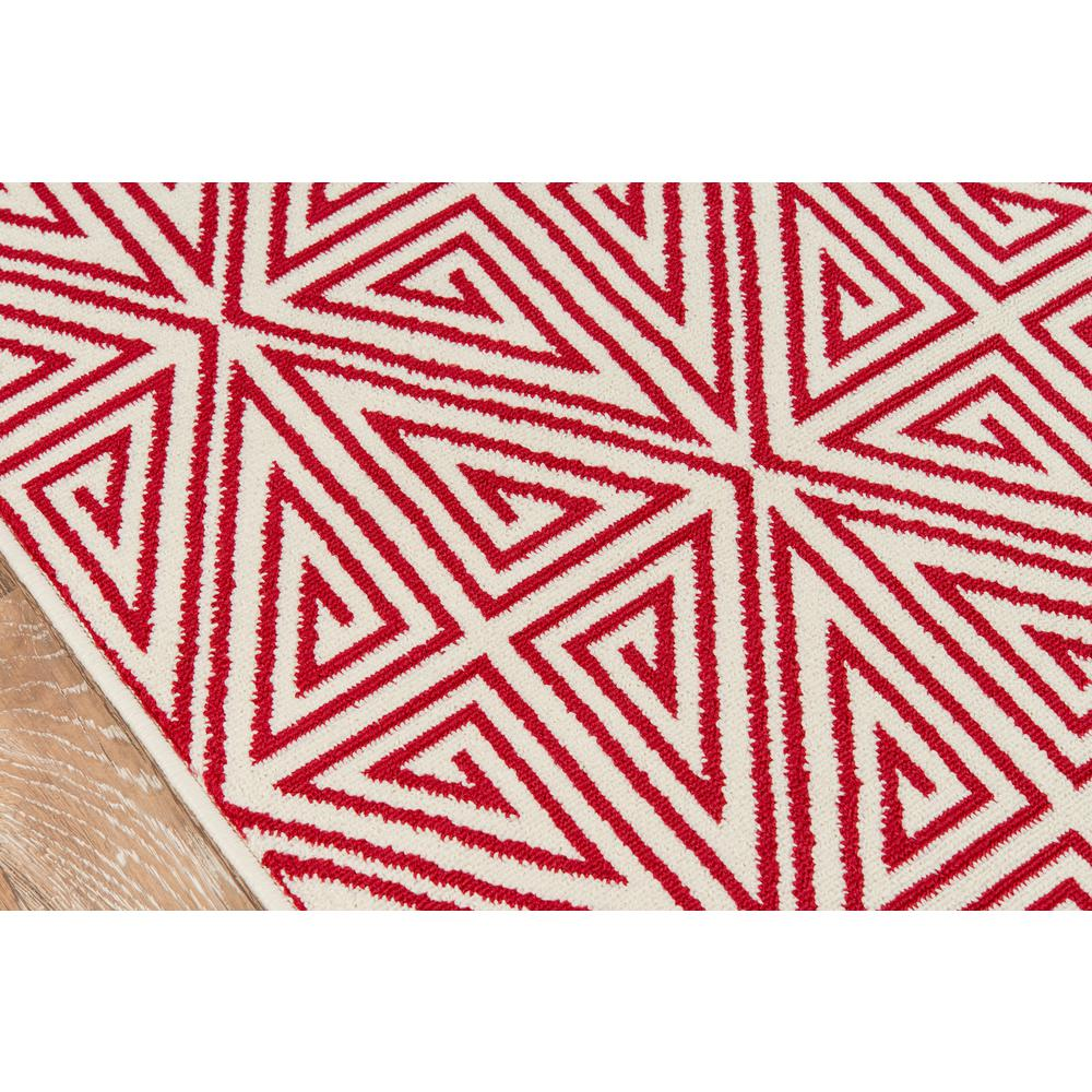 """Baja Area Rug, Red, 3'11"""" X 5'7"""". Picture 3"""