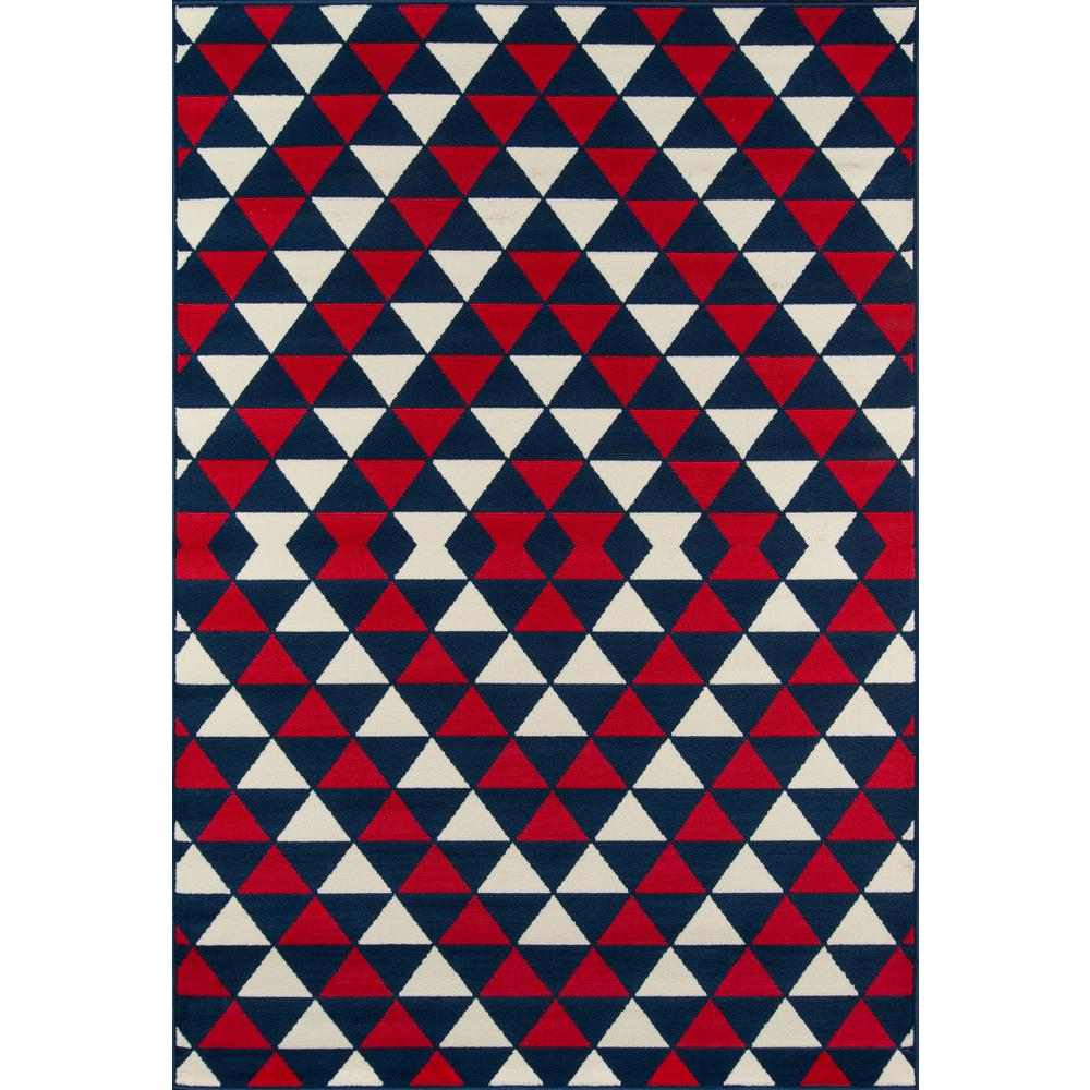"Baja Area Rug, Red, 3'11"" X 5'7"". Picture 1"