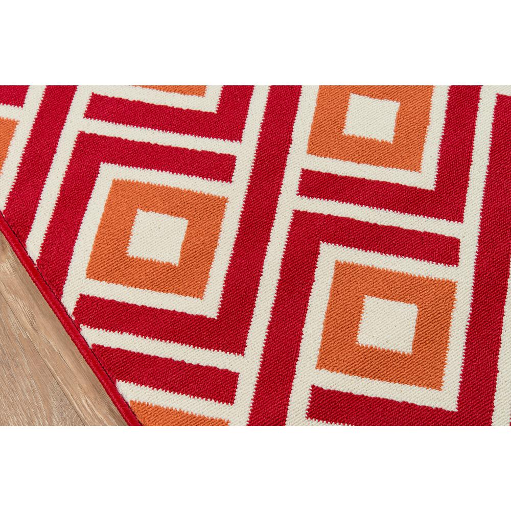 "Baja Area Rug, Red, 3'11"" X 5'7"". Picture 3"