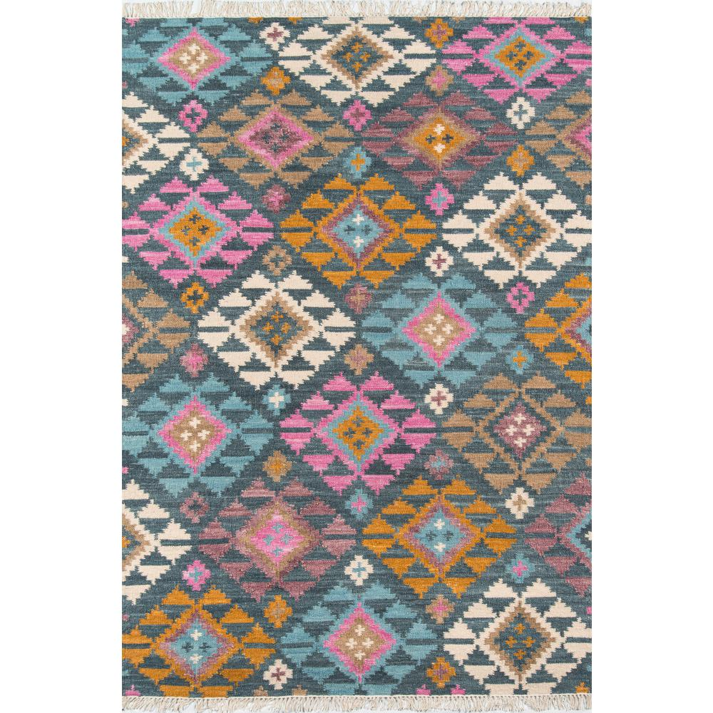 "Caravan Area Rug, Multi, 5' X 7'6"". Picture 1"