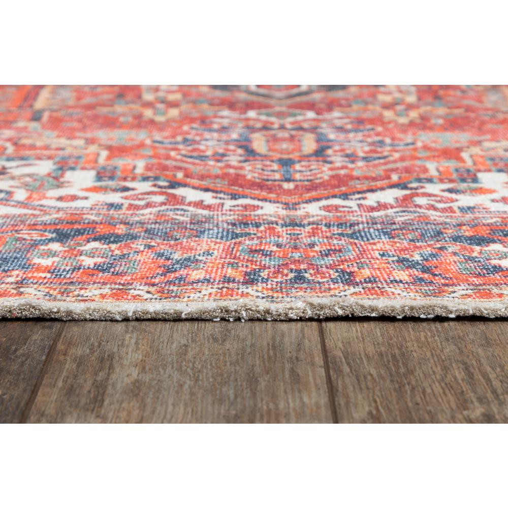 """Chandler Area Rug, Red, 5'6"""" X 8'6"""". Picture 3"""