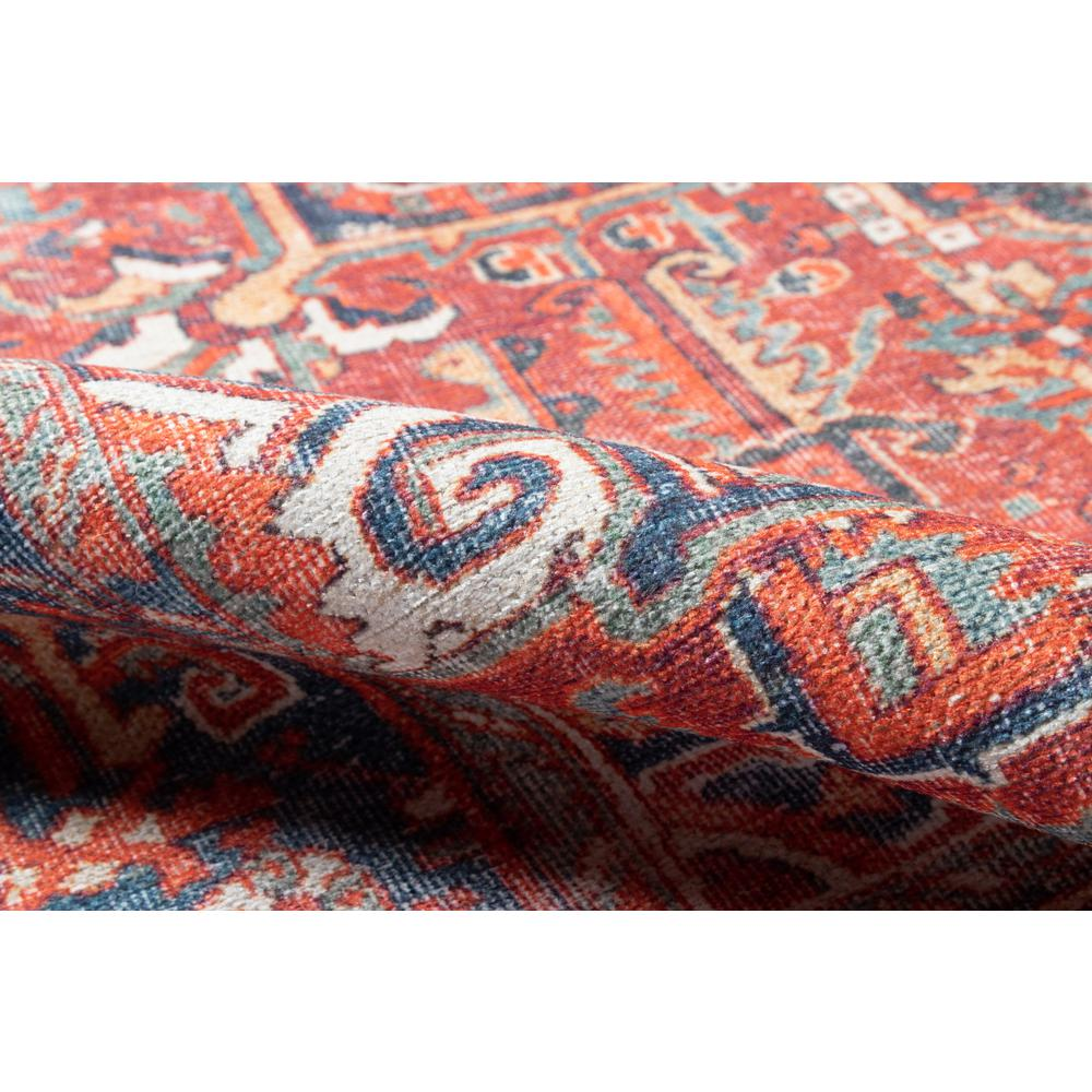 """Chandler Area Rug, Red, 5'6"""" X 8'6"""". Picture 4"""