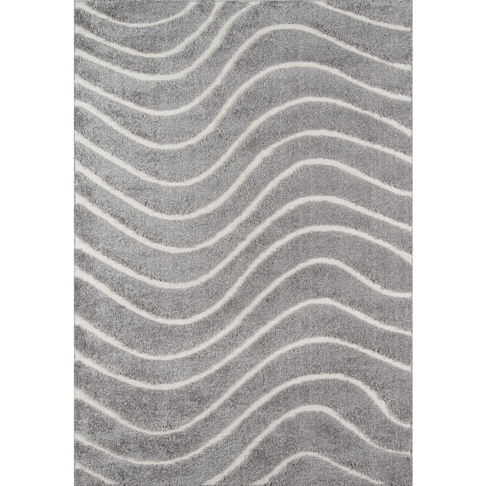 "Charlotte Area Rug, Grey, 5' X 7'6"". Picture 1"