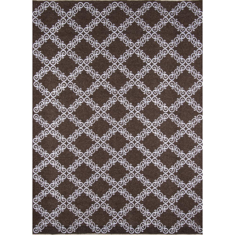 Cielo Area Rug, Brown, 5' X 8'. Picture 1