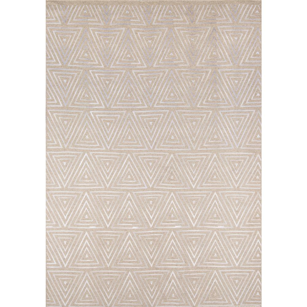 Cielo Area Rug, Sand, 8' X 10'. Picture 1