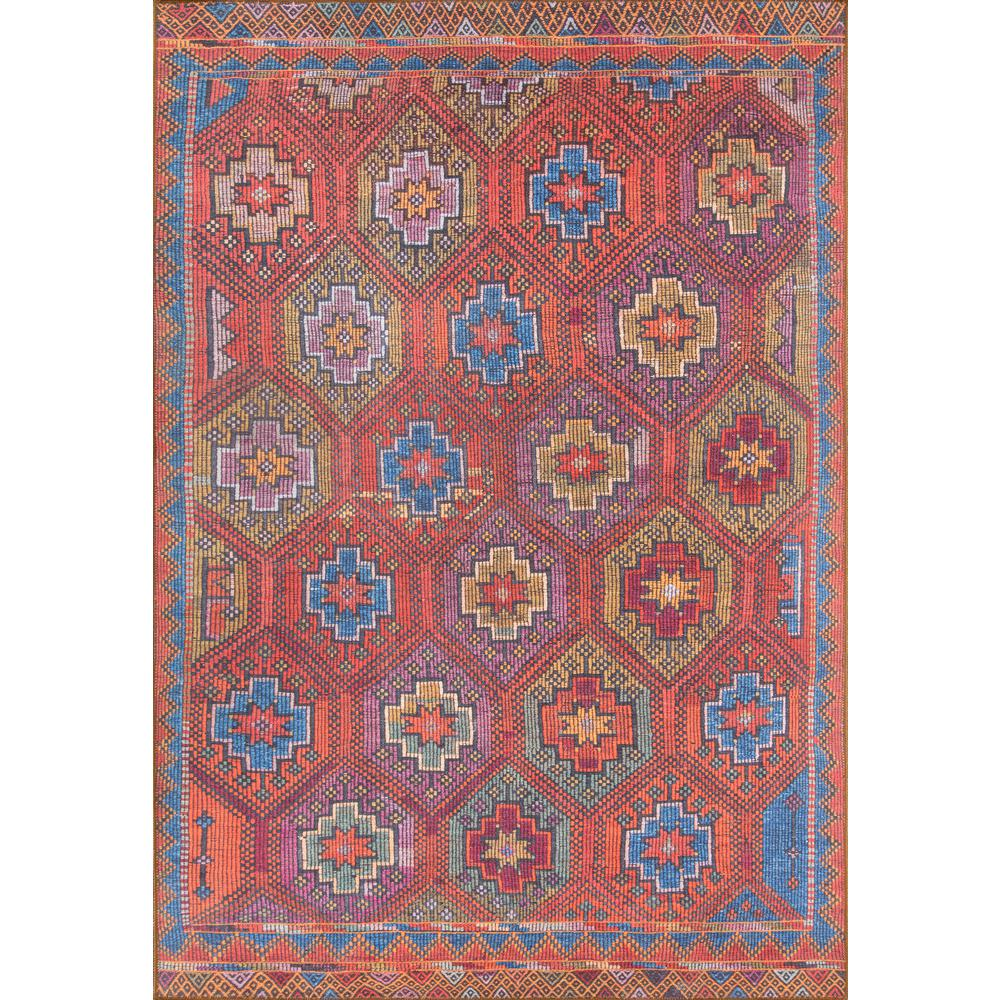 """Afshar Area Rug, Multi, 7'6"""" X 9'6"""". Picture 1"""