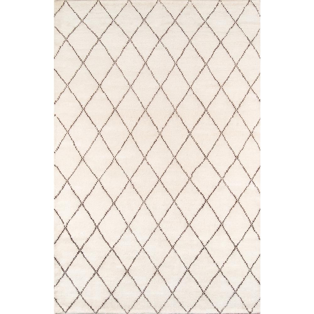 Atlas Area Rug, Ivory, 8' X 11'. The main picture.