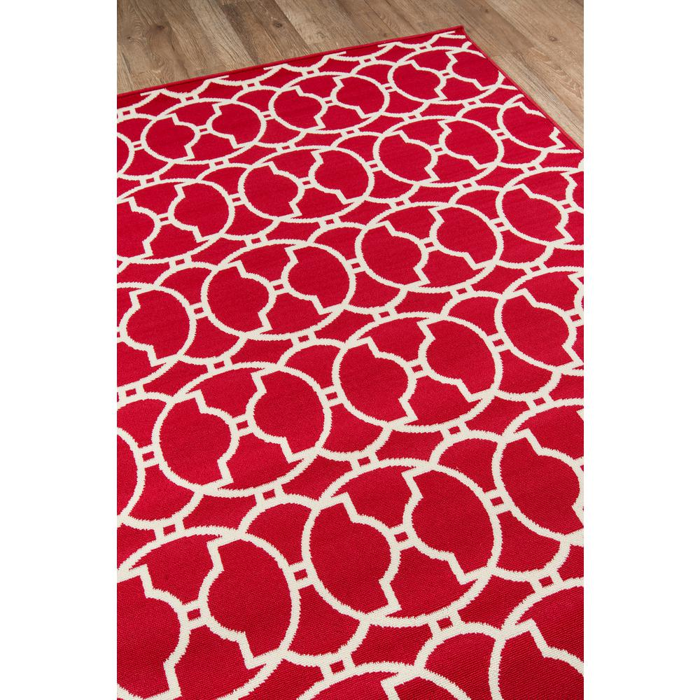 """Baja Area Rug, Red, 5'3"""" X 7'6"""". Picture 2"""