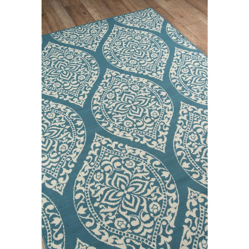 "Baja Area Rug, Blue, 5'3"" X 7'6"". Picture 2"