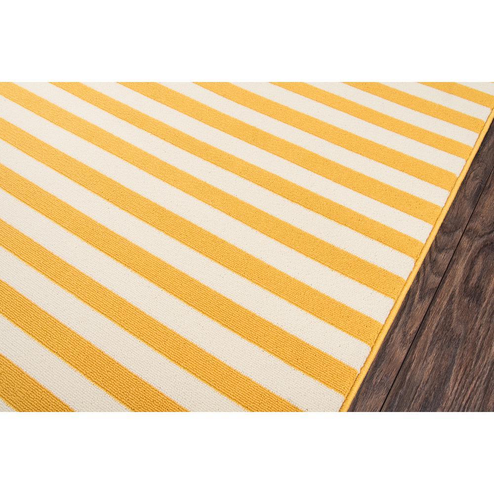 "Baja Area Rug, Yellow, 5'3"" X 7'6"". Picture 3"