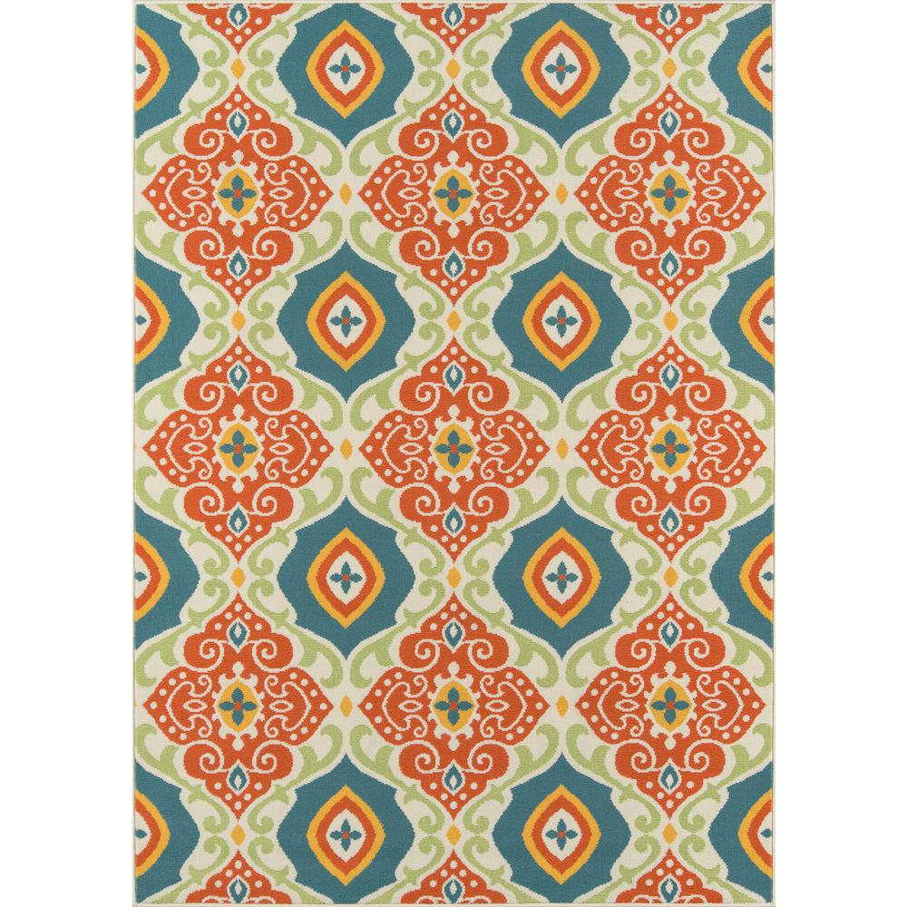 "Baja Area Rug, Multi, 5'3"" X 7'6"". The main picture."