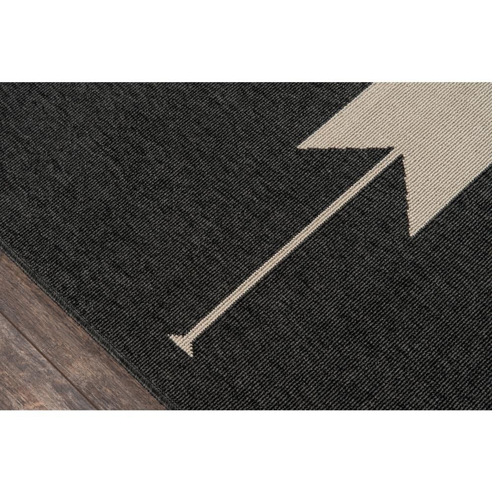 """Baja Area Rug, Charcoal, 5'3"""" X 7'6"""". Picture 3"""