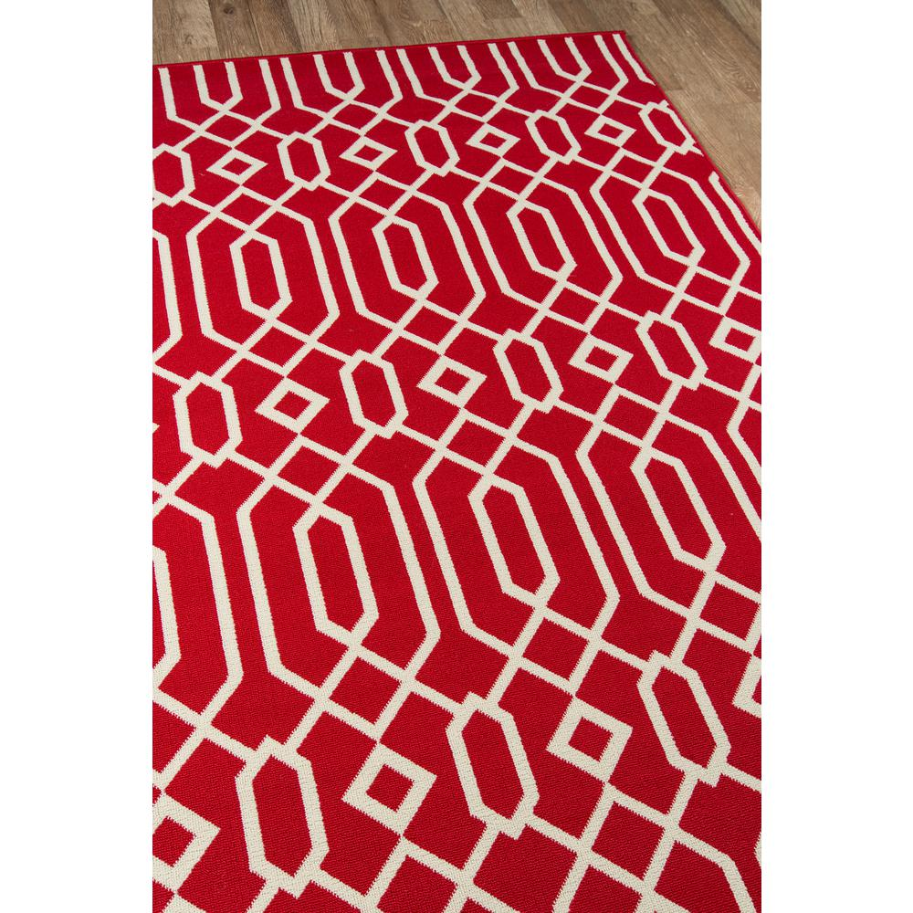 "Baja Area Rug, Red, 5'3"" X 7'6"". Picture 2"