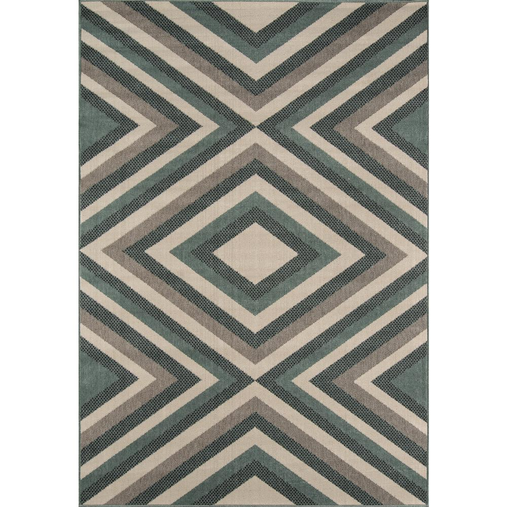 "Baja Area Rug, Sage, 5'3"" X 7'6"". The main picture."