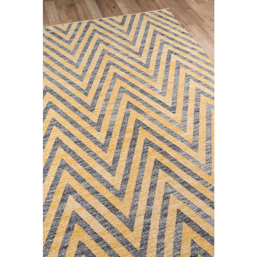 "Caravan Area Rug, Yellow, 7'6"" X 9'6"". Picture 2"