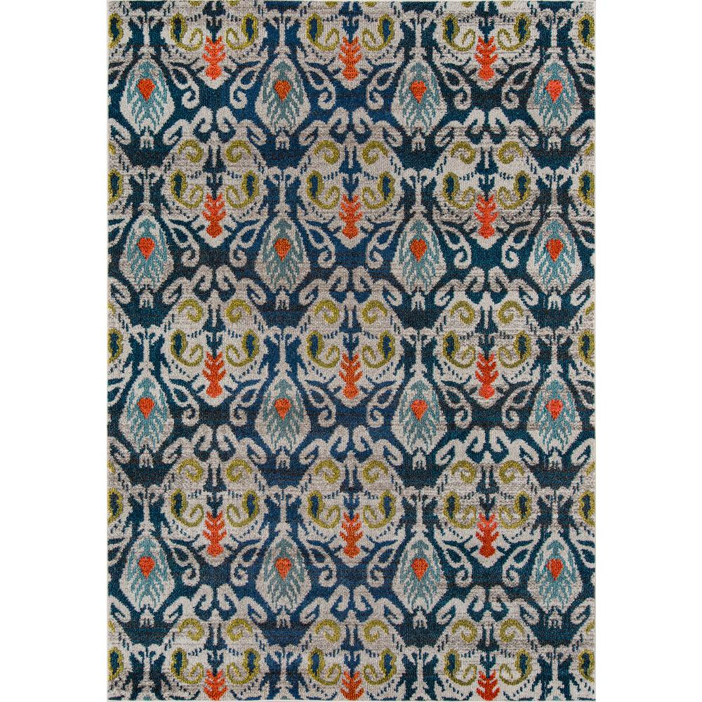 """Casa Area Rug, Navy, 7'10"""" X 9'10"""". Picture 1"""