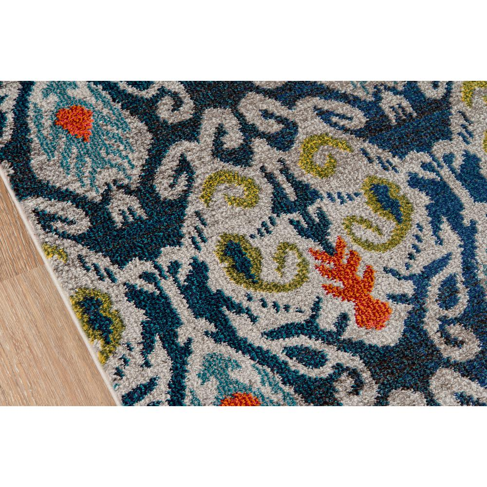 """Casa Area Rug, Navy, 7'10"""" X 9'10"""". Picture 3"""
