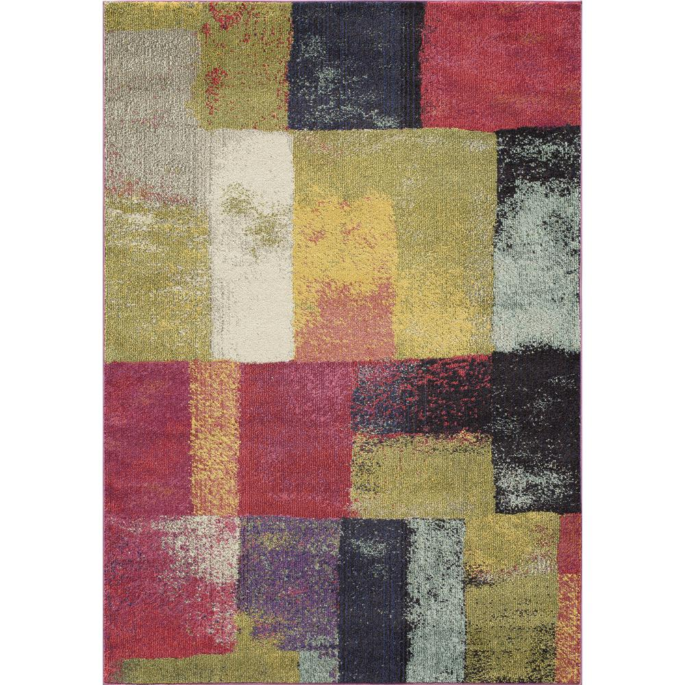 "Casa Area Rug, Multi, 7'10"" X 9'10"". The main picture."