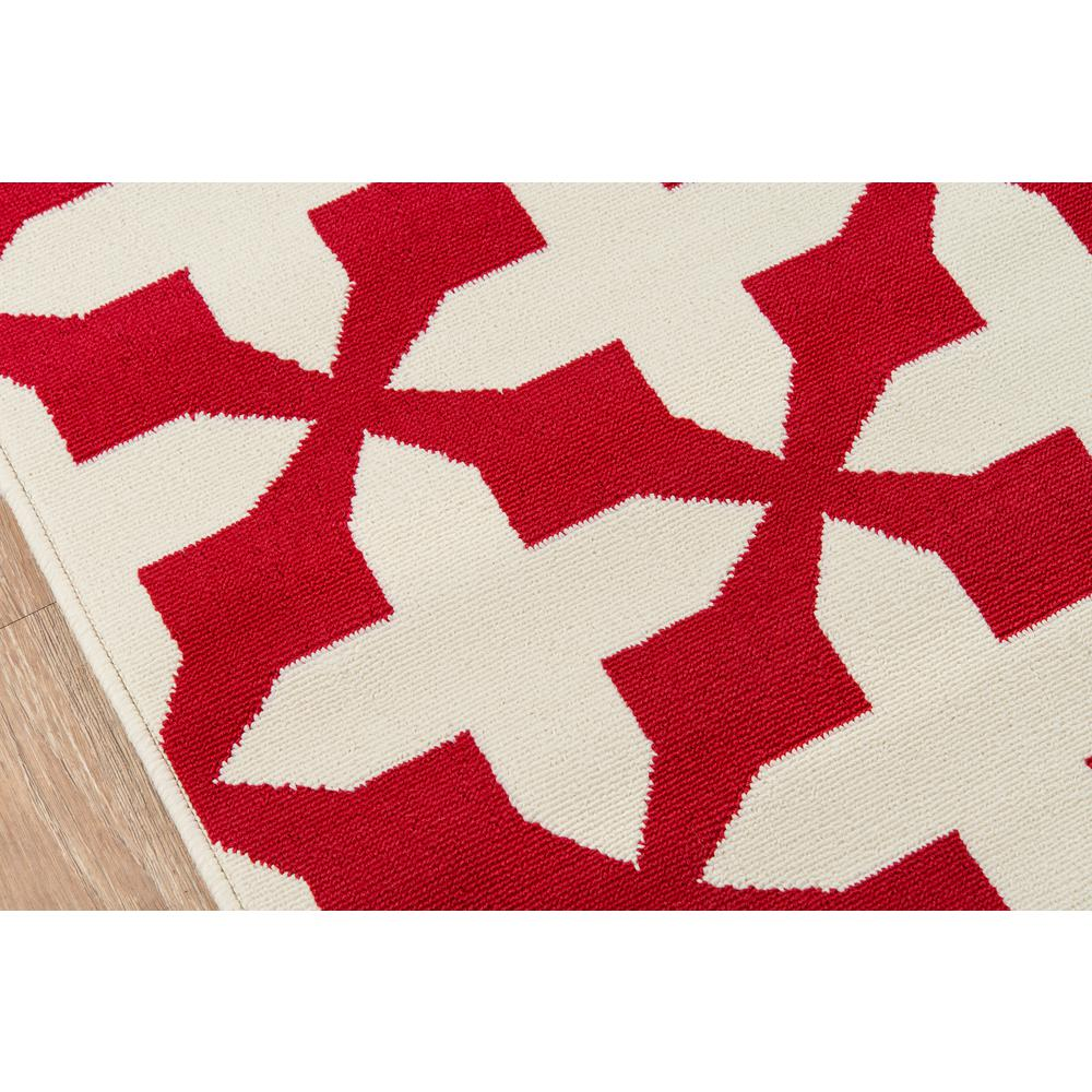 "Baja Area Rug, Red, 6'7"" X 9'6"". Picture 3"