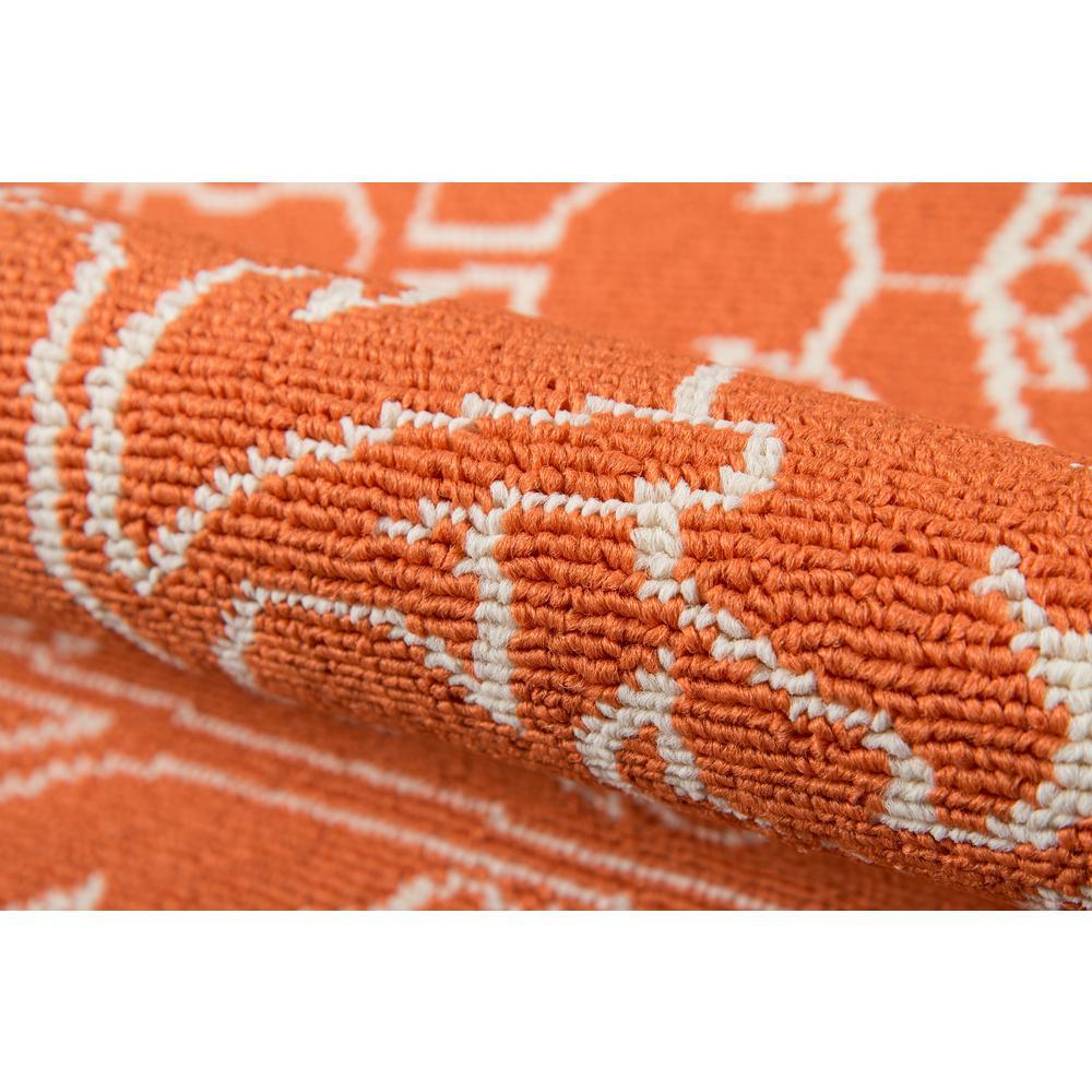 "Baja Area Rug, Orange, 6'7"" X 9'6"". Picture 4"