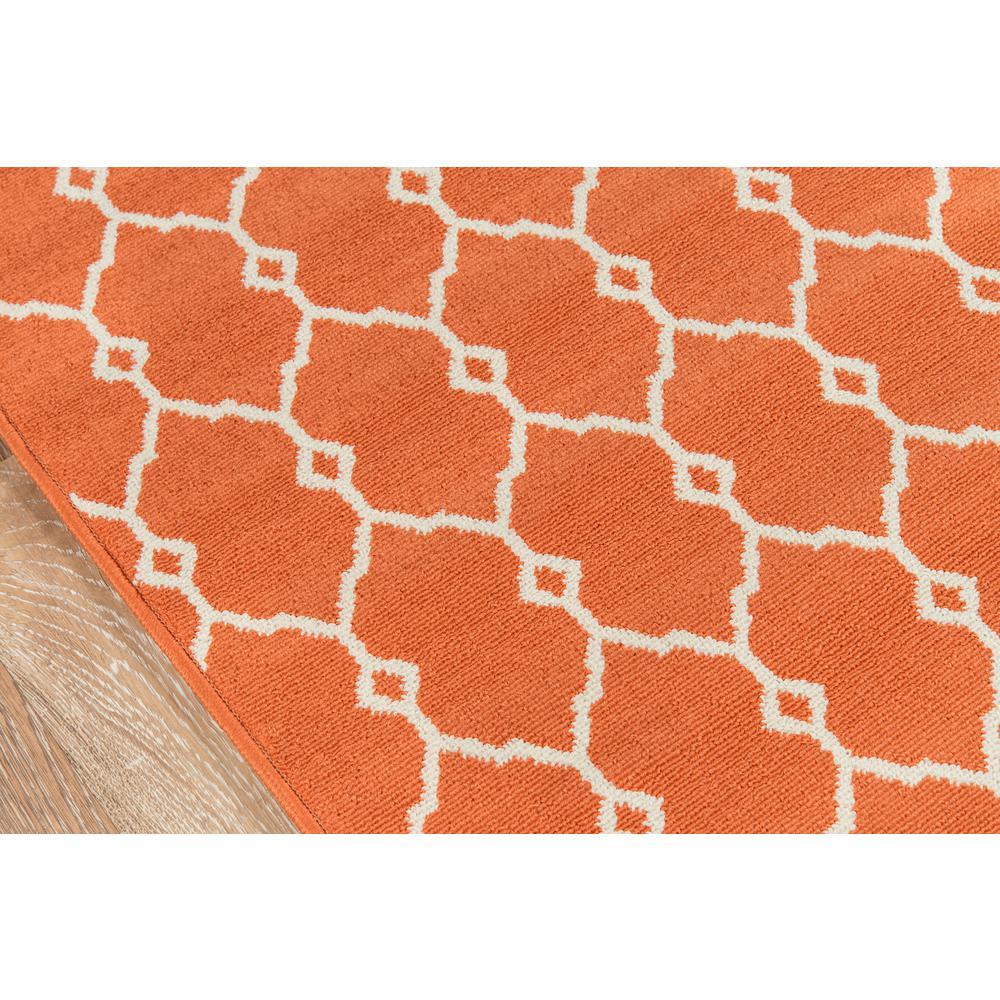 "Baja Area Rug, Orange, 6'7"" X 9'6"". Picture 3"