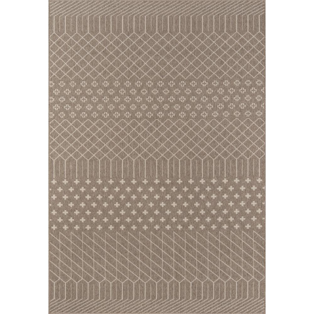 "Baja Area Rug, Taupe, 6'7"" X 9'6"". Picture 1"