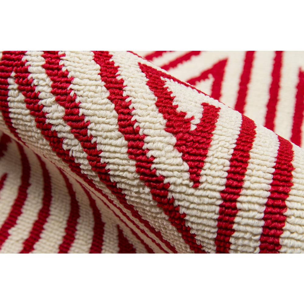"""Baja Area Rug, Red, 6'7"""" X 9'6"""". Picture 4"""