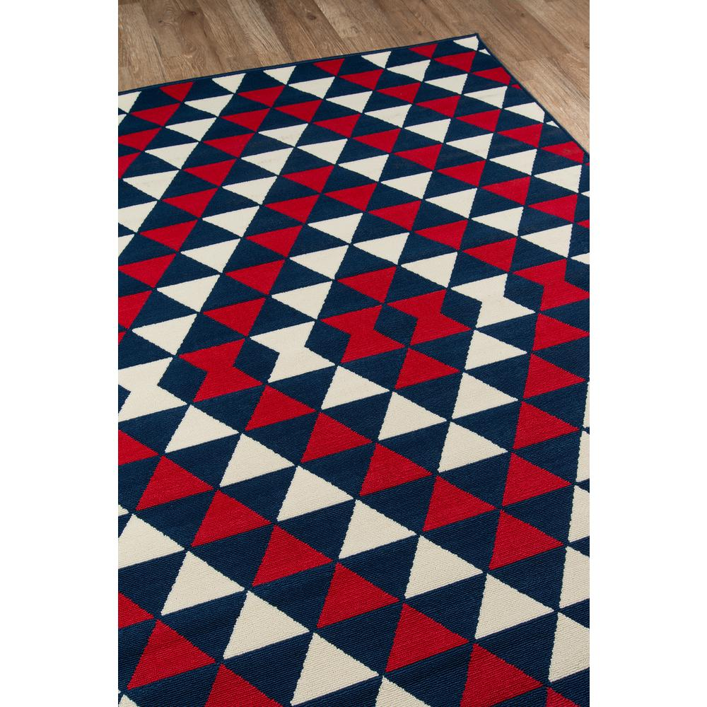 """Baja Area Rug, Red, 6'7"""" X 9'6"""". Picture 2"""