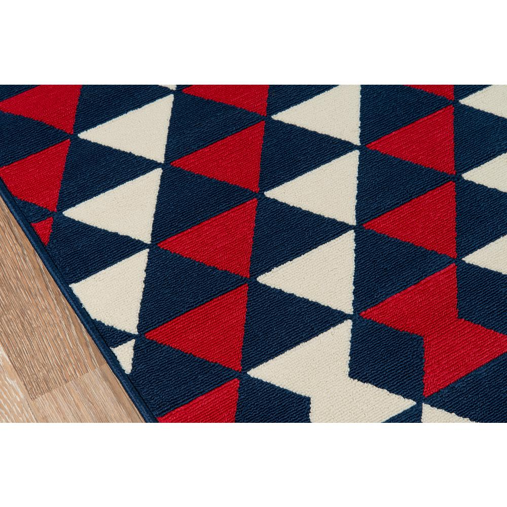 """Baja Area Rug, Red, 6'7"""" X 9'6"""". Picture 3"""