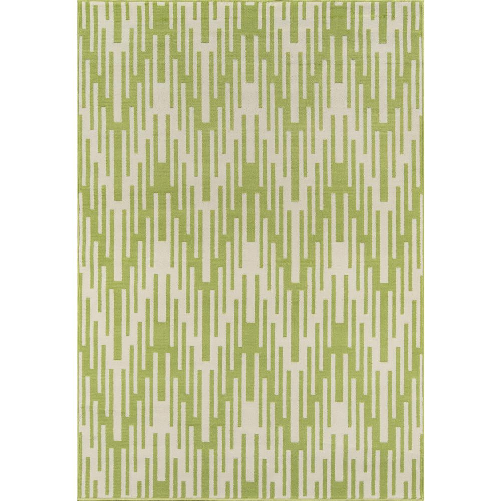 "Baja Area Rug, Green, 6'7"" X 9'6"". Picture 1"
