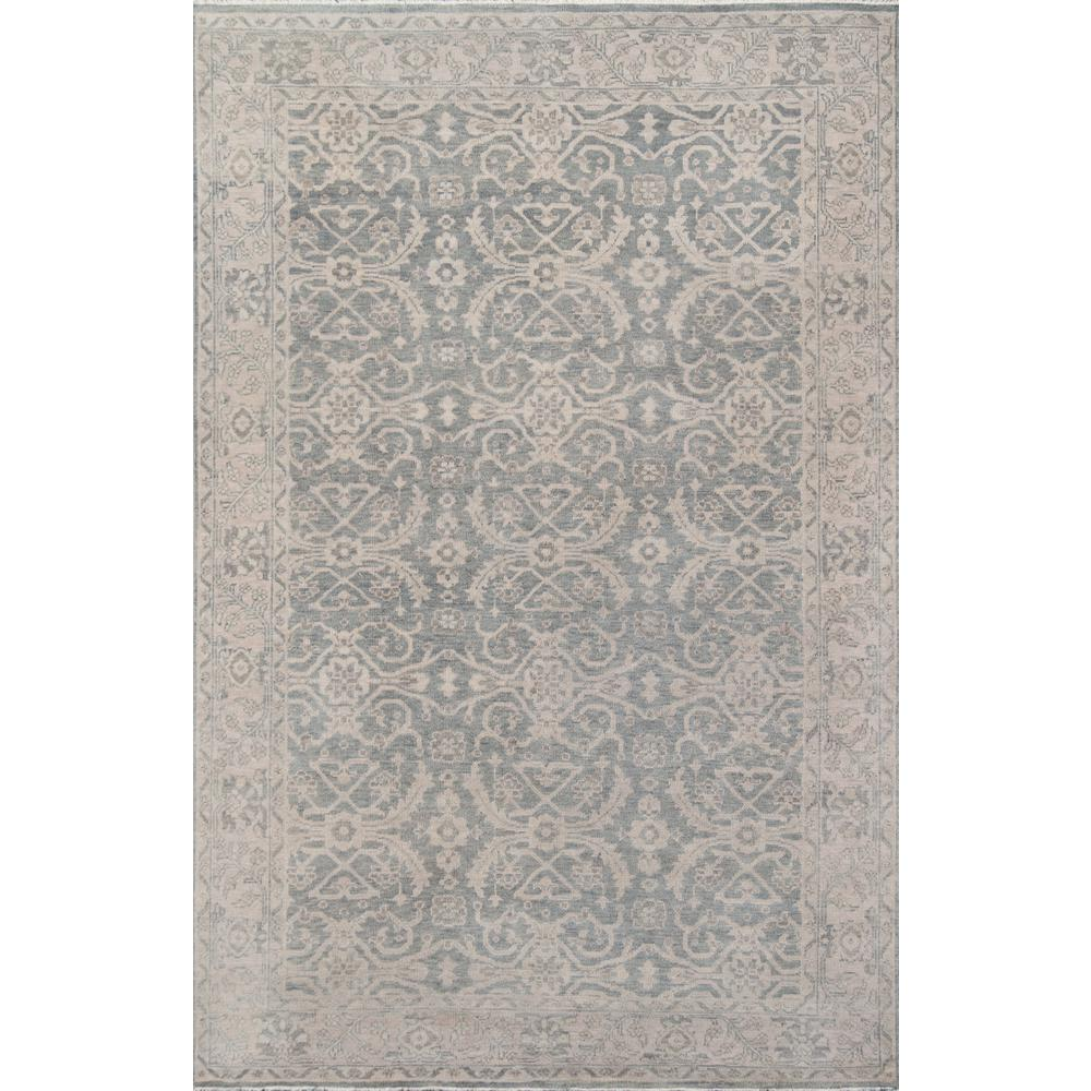 "Banaras Area Rug, Sage, 9'6"" X 13'6"". The main picture."