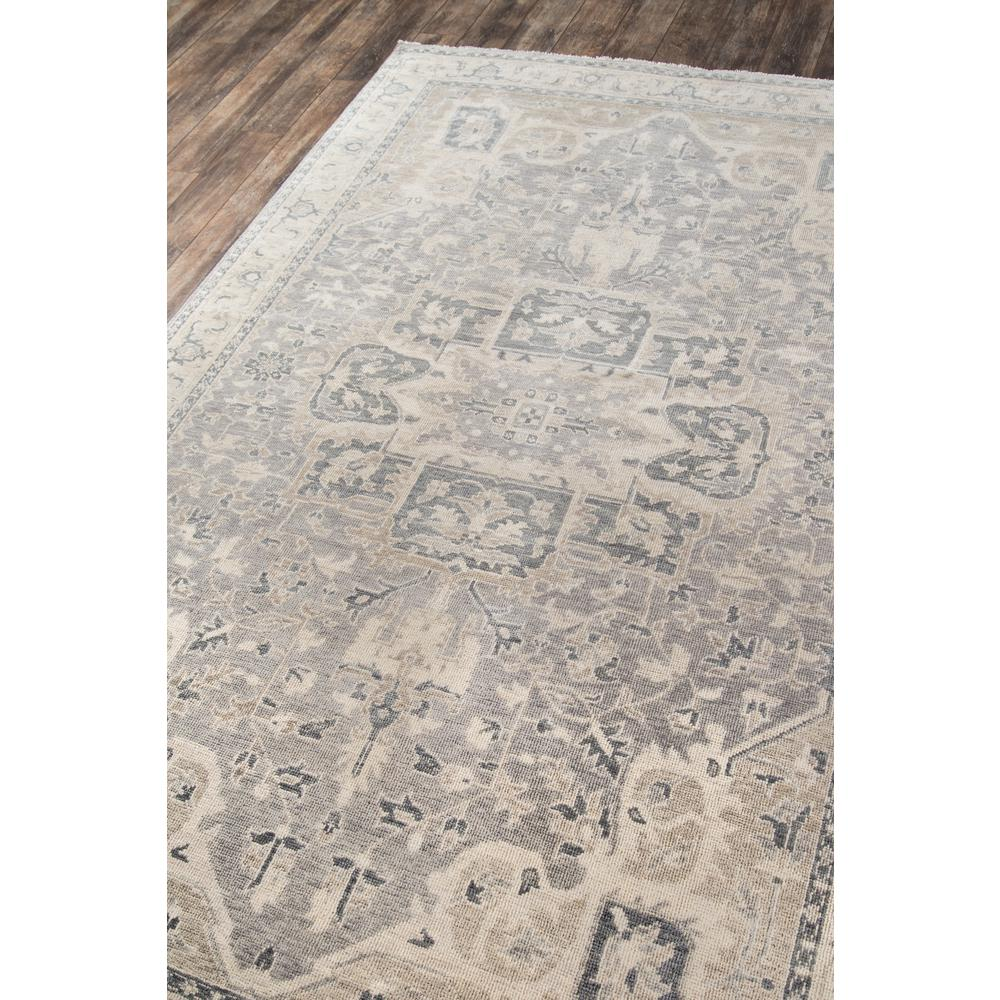 "Banaras Area Rug, Grey, 9'6"" X 13'6"". Picture 2"