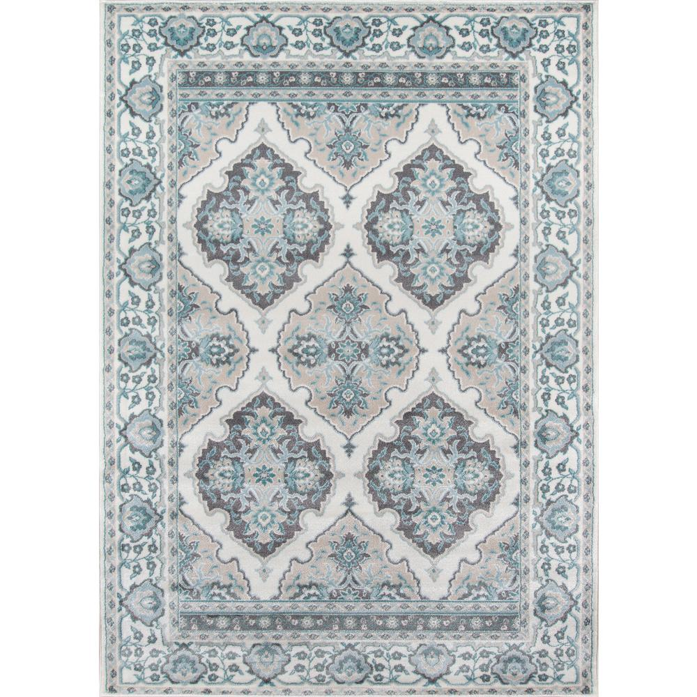 "Brooklyn Heights Area Rug, Ivory, 9'3"" X 12'6"". Picture 1"