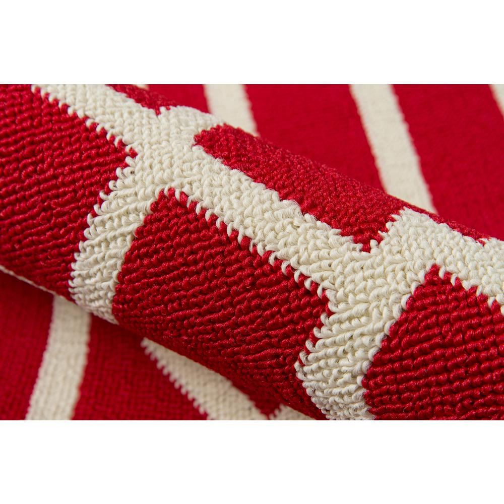 """Baja Area Rug, Red, 7'10"""" X 10'10"""". Picture 4"""