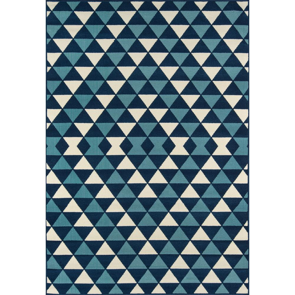 "Baja Area Rug, Blue, 7'10"" X 10'10"". Picture 1"