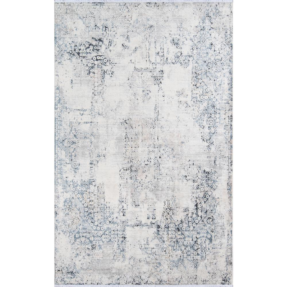 Bergen Area Rug, Blue, 8' X 10'. Picture 1
