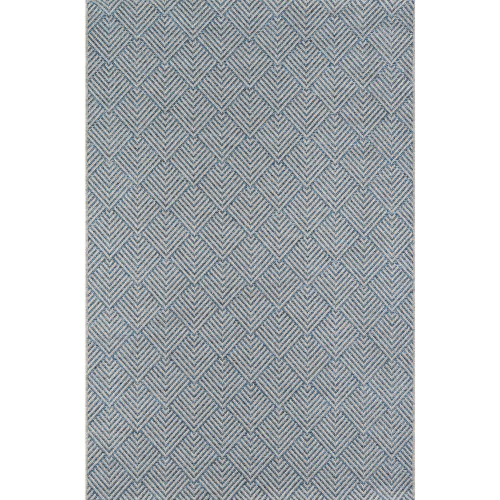 "Como Area Rug, Blue, 6'7"" X 9'6"". Picture 1"
