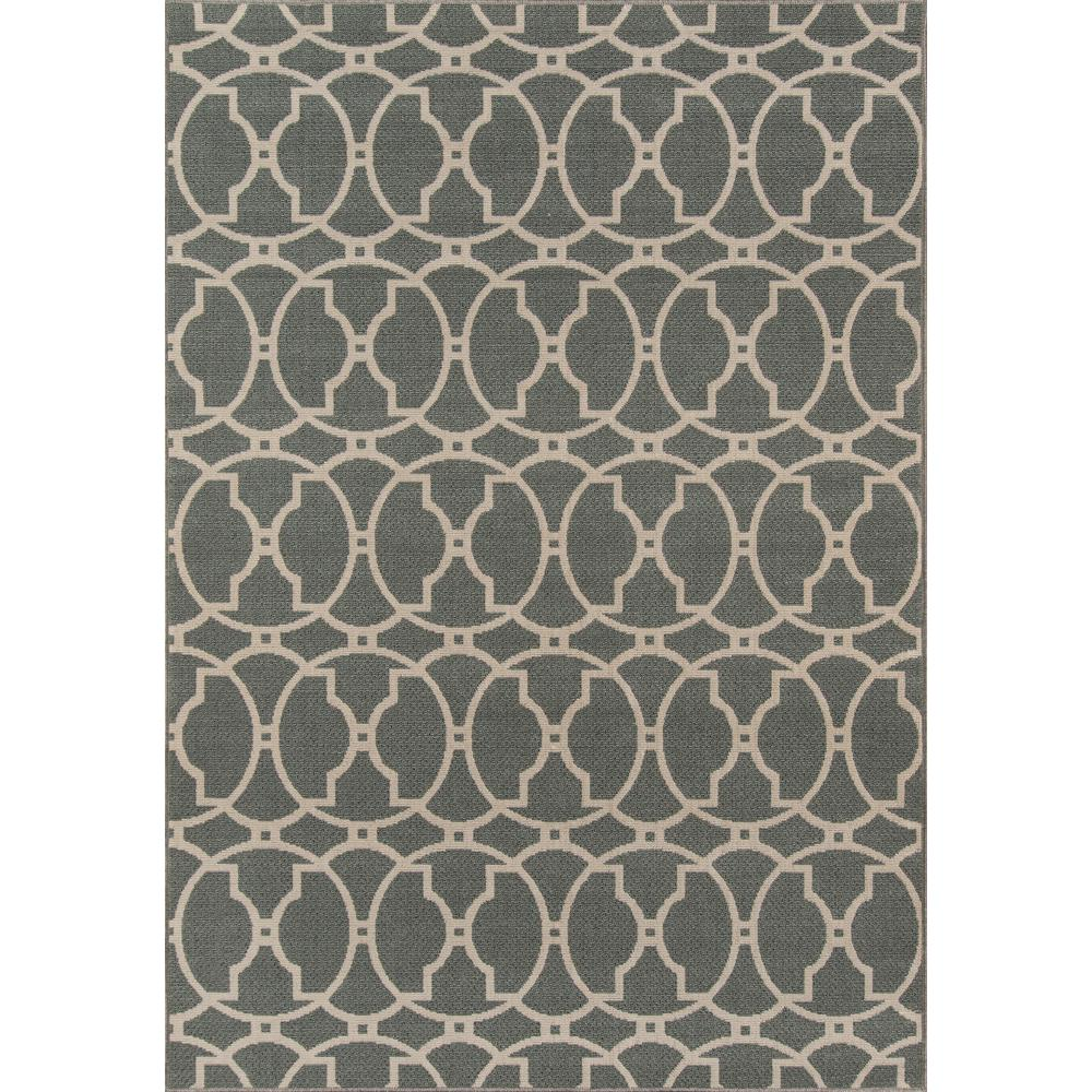 "Baja Area Rug, Grey, 8'6"" X 13'. Picture 1"