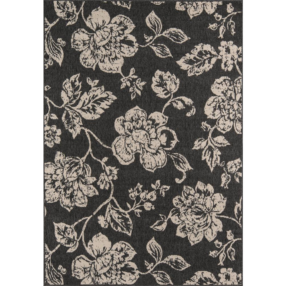 "Baja Area Rug, Black, 8'6"" X 13'. Picture 1"