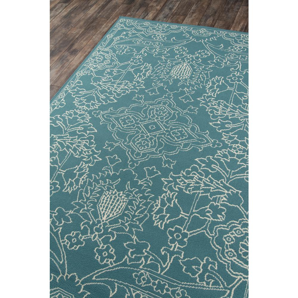 """Baja Area Rug, Teal, 8'6"""" X 13'. Picture 2"""