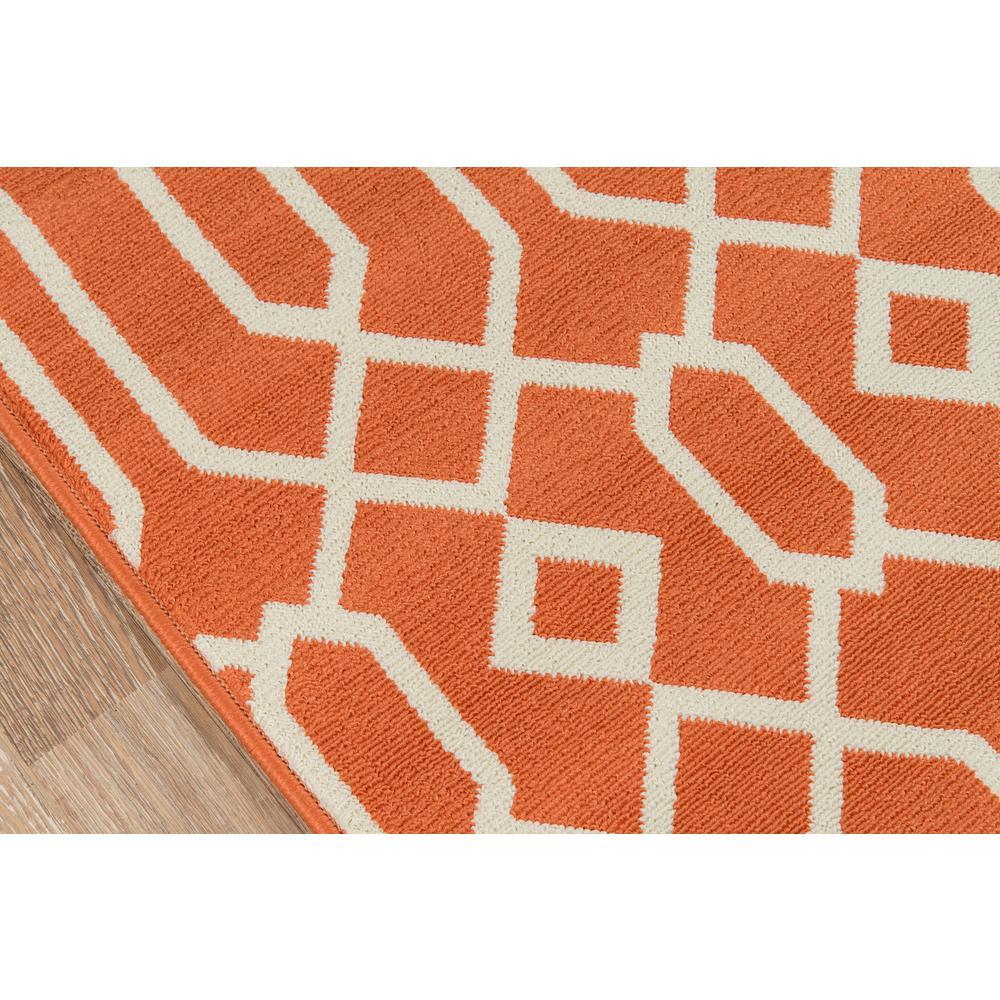 "Baja Area Rug, Orange, 8'6"" X 13'. Picture 3"