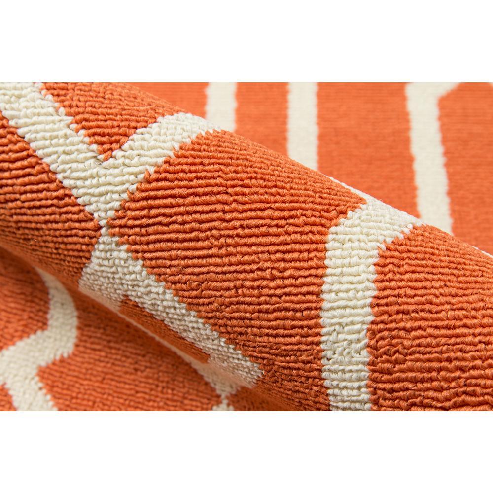 "Baja Area Rug, Orange, 8'6"" X 13'. Picture 4"