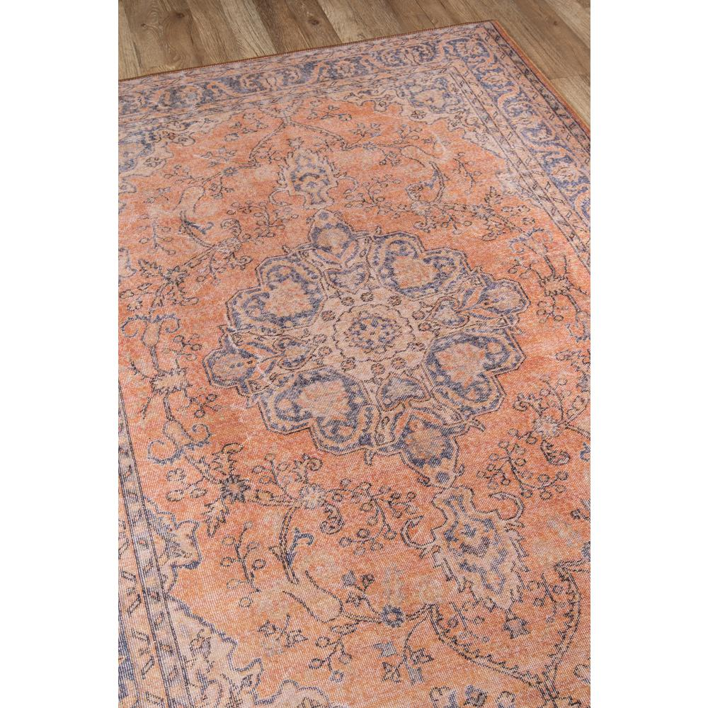 Afshar Area Rug, Copper, 2' X 3'. Picture 2