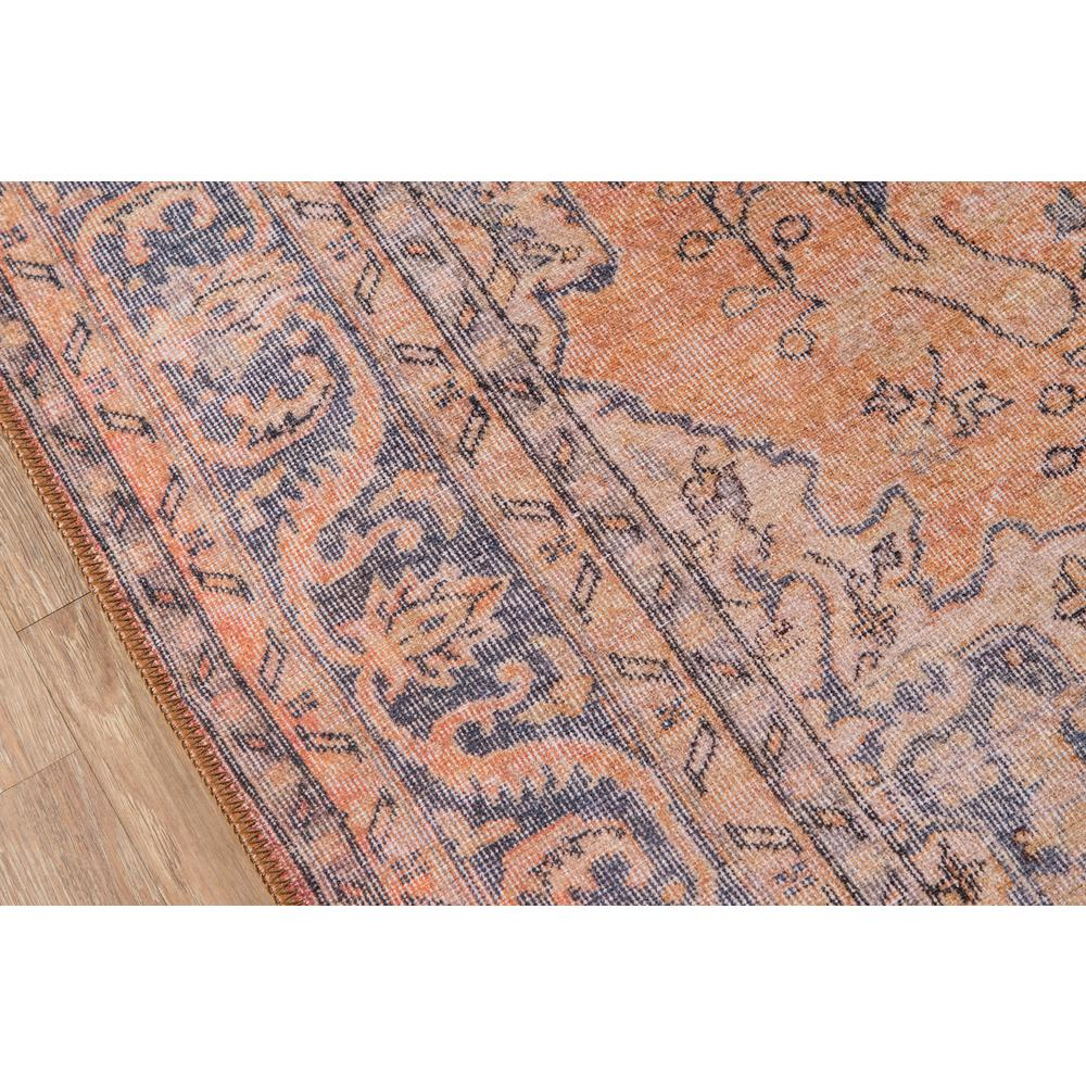 Afshar Area Rug, Copper, 2' X 3'. Picture 3