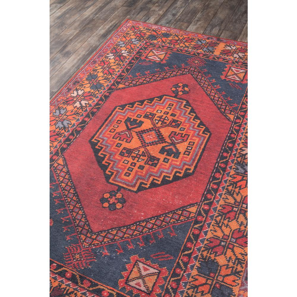 Afshar Area Rug, Red, 2' X 3'. Picture 2