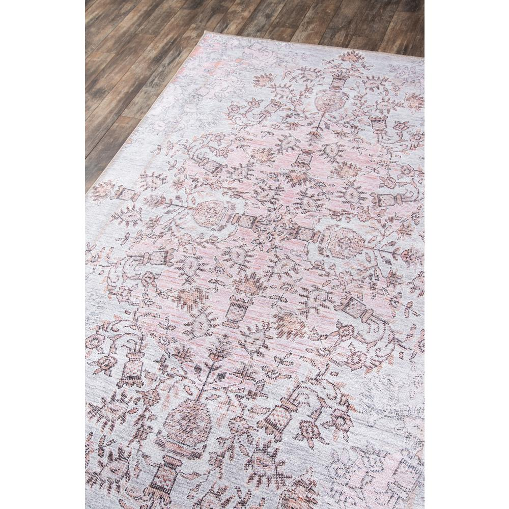 Afshar Area Rug, Pink, 2' X 3'. Picture 2